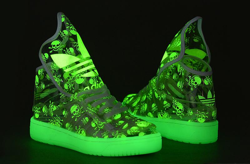 basket lumineuse garçon adidas