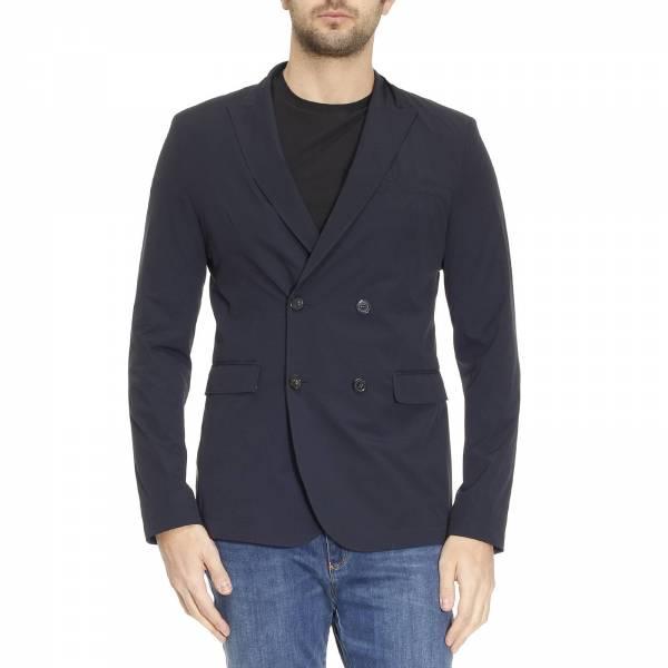 dbd9a31718af Armani jeans Limokaso bleu vêtements vestes blousons homme ,armani montreal  ...