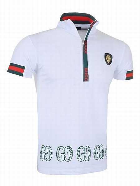 Gucci Tiger Embroidered Polo Shirt 3112 Homme Vêtements Polos,gucci online  pas cher,sac gucci,france en ligne 29.00EUR, polos t-shirt gucci coton mode  five ... da323bc3445d